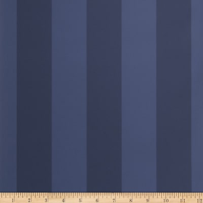 Fabricut Bingham Stripe Wallpaper Navy (Double Roll)
