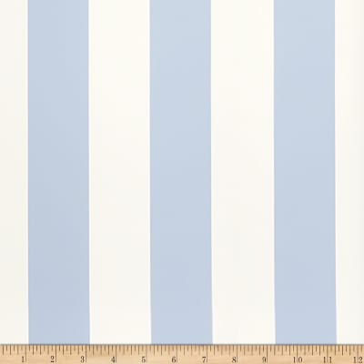 Fabricut Bingham Stripe Wallpaper Sky Blue (Double Roll)