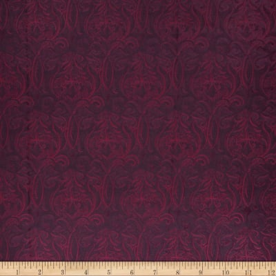 Collier Campbell Brocade Garnet
