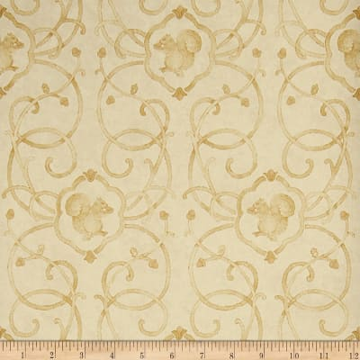 Charles Faudree Cashiers Wallpaper Soft Gold (Double Roll)