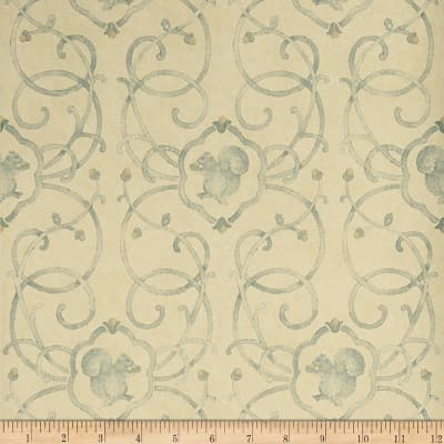 Charles Faudree Cashiers Wallpaper Lagoon (Double Roll)