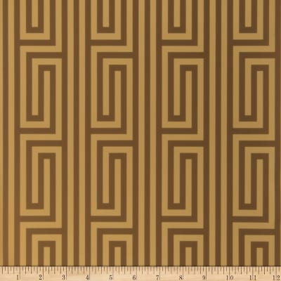 Fabricut Delamere Wallpaper Chocolate (Double Roll)