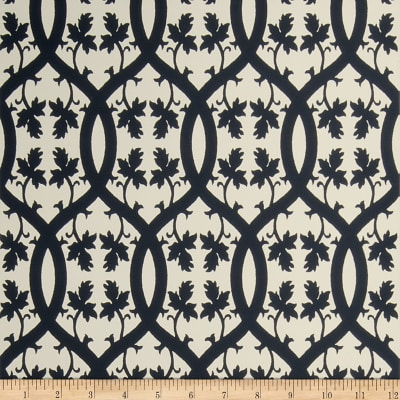 Fabricut Eduardo Nonwoven Wallpaper Ebony (Double Roll)