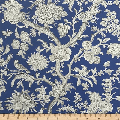 Fabricut Emmett Wallpaper Indigo (Double Roll)