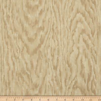 Charles Faudree Faux Bois Wallpaper Linen (Double Roll)