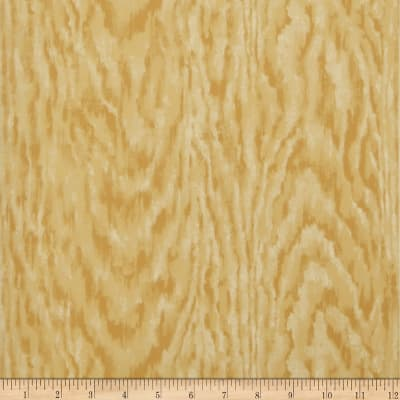 Charles Faudree Faux Bois Wallpaper Dijon (Double Roll)