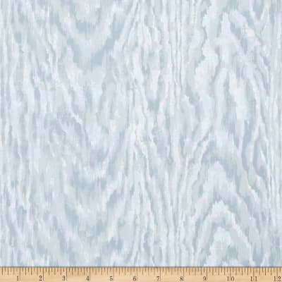 Charles Faudree Faux Bois Wallpaper Blue (Double Roll)