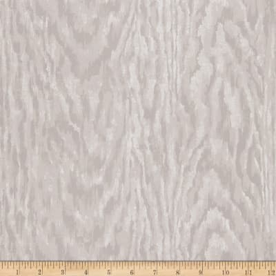 Charles Faudree Faux Bois Wallpaper Grey (Double Roll)