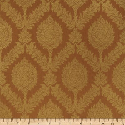 Fabricut Giles Wallpaper Paprika (Double Roll)