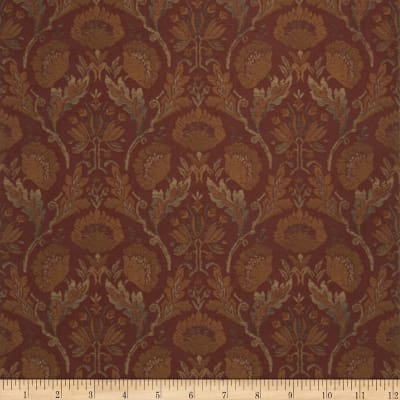 Fabricut Guilford Wallpaper Claret (Double Roll)