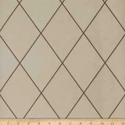 Fabricut Hackett Wallpaper Taupe (Double Roll)