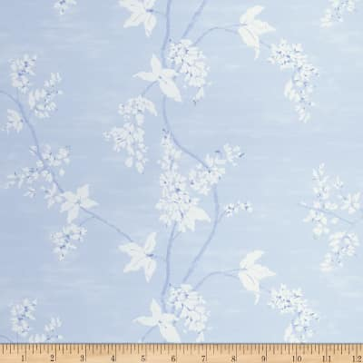 Fabricut Harcourt Wallpaper French Blue (Double Roll)