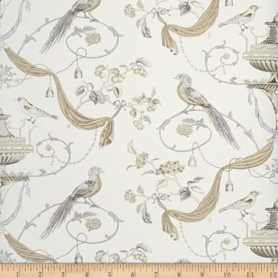 Fabricut Hinson Wallpaper Neutral (Double Roll)