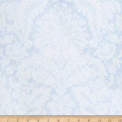 Fabricut Hoskins Wallpaper Blue (Double Roll)