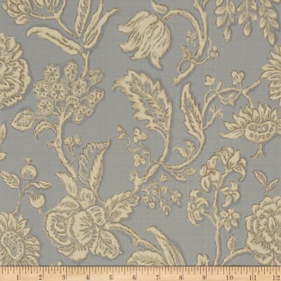 Charles Faudree Mondeville Wallpaper Slate (Double Roll)