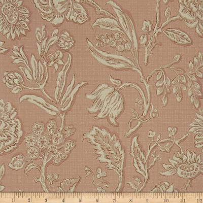Charles Faudree Mondeville Wallpaper Slipper Pink (Double Roll)