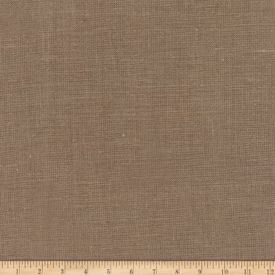 Fabricut Patterson Linen Coffee