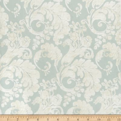 Fabricut Rowley Nonwoven Wallpaper Seafoam (Double Roll)