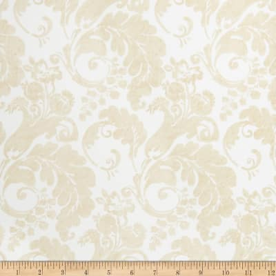 Fabricut Rowley Nonwoven Wallpaper Vanilla (Double Roll)