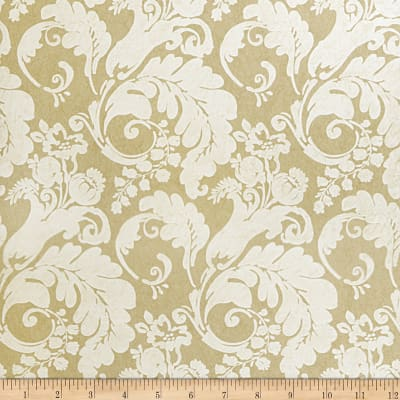 Fabricut Rowley Nonwoven Wallpaper Taupe (Double Roll)