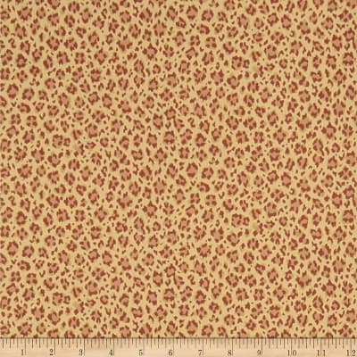 Charles Faudree Tanzania Wallpaper Red (Double Roll)