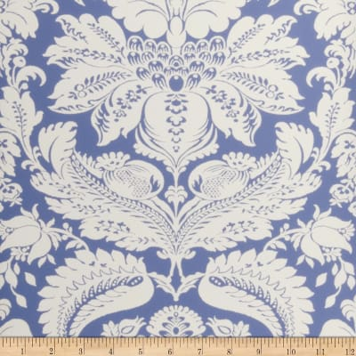 Fabricut Wesley Wallpaper Sky Blue (Double Roll)