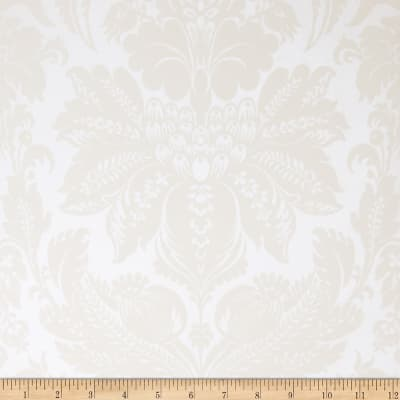 Fabricut Wethers Nonwoven Wallpaper Ivory (Double Roll)