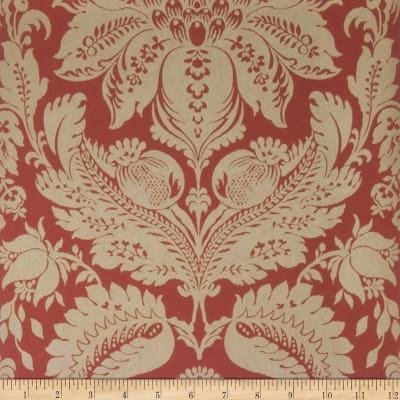 Fabricut Wethers Nonwoven Wallpaper Cranberry (Double Roll)