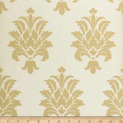 Fabricut Whitby Nonwoven Wallpaper Straw (Double Roll)