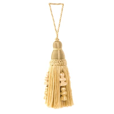 "Trend 10"" 01364 Key Tassel Gold"