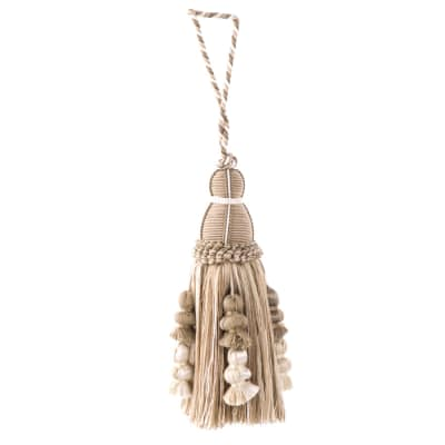 "Trend 10"" 01364 Key Tassel Natural"