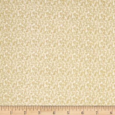 Riley Blake Sparkle Cotton Mini Hashtag Gold Metallic