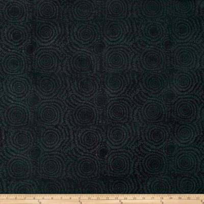 Island Batik Cotton Blender Black