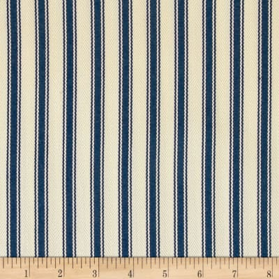 Ralph Lauren Home LCF64780F Outdoor Little Bay Ticking Ultramarine