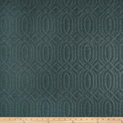 ADF Frescanti Quilted Upholstery Teal