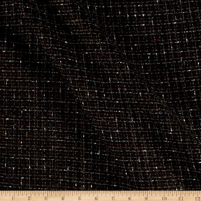 Tweed Suiting Black/Gray/Brown