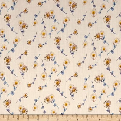 Liberty Fabrics Tana Lawn Melody Small White Multi