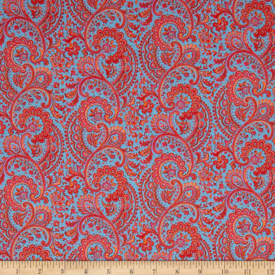 Liberty Fabrics Tana Lawn Liesl Orange
