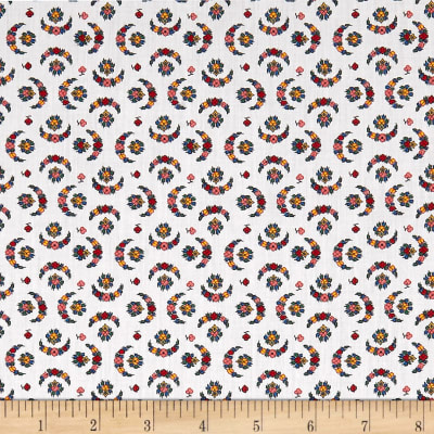 Liberty Fabrics Tana Lawn Moon Dance Red