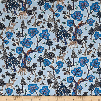 Liberty Fabrics Tana Lawn Doe a Deer Royal