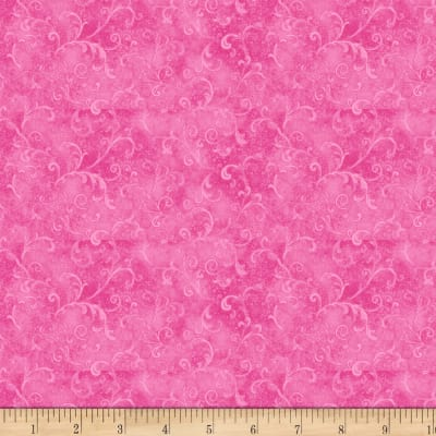 Wilmington Essentials Mid-Year 2017 Filigree Bright Pink