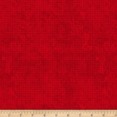 Wilmington Essentials Mid-Year 2017 Criss Cross Texture Dark Red