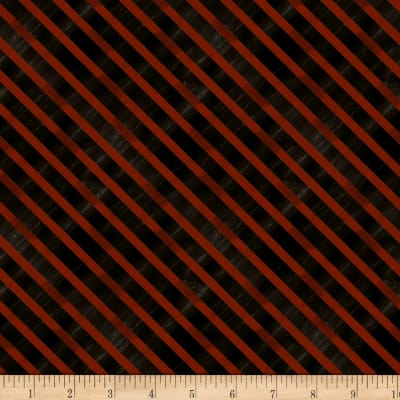 Wilmington Homestead Diagonal Stripe Black