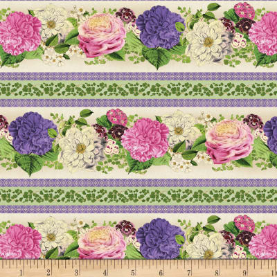 Wilmington Flower Show Repeating Stripe Multi