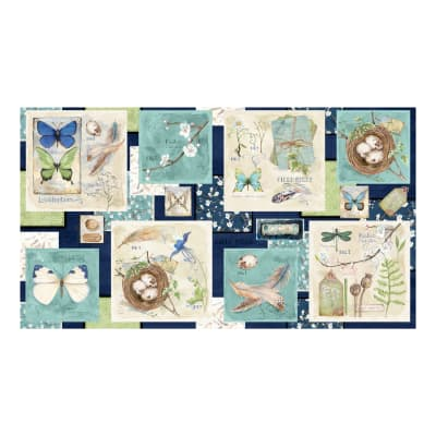 Wilmington Nature Study Craft Panel Multi