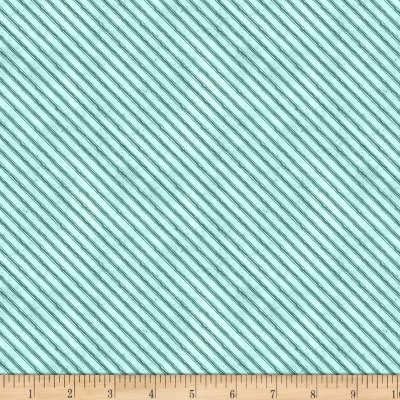 Wilmington Nature Study Stripe Teal