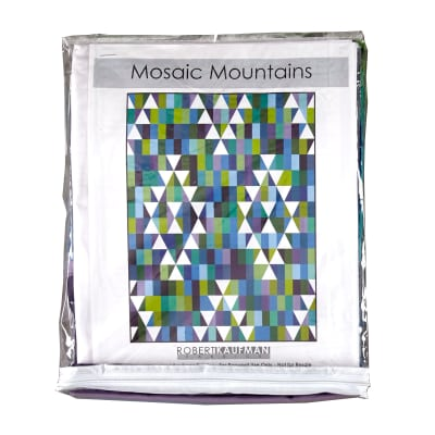 Kaufman Kona Cotton Mosaic Mountains Kit Cool