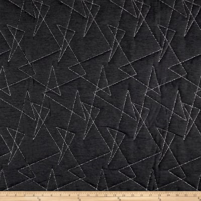 Artistry Mod Quilted Upholstery Obsidian