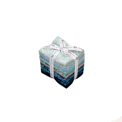 Kaufman Aqua Spa Fat Quarter Bundle Batik