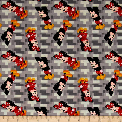 Disney Crossy Road Mickey And Minnie Red